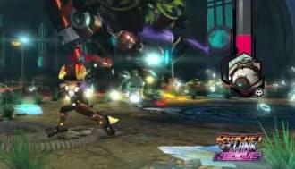昨年12月に発売のPS3用「ラチェット&クランク イントゥ ザ ネクサス」(SCE)もラインアップに加えられることが予告されている(画像は6月のゲーム展示会E3で発表された動画より)