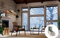 LIXILが2015年1月に発売予定の樹脂窓「エルスターX」。熱貫流率は0.79W/m2・K(資料:LIXIL)
