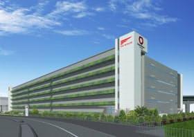 ファーストリテイリングと共同で取り組む物流拠点の第1弾は東京・有明地区に2016年完成する