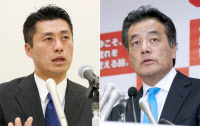 民主党代表選は岡田氏(右)と細野氏(左)の事実上の一騎打ちとなりそうだ