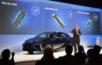 FCV関連の特許を無償開放することを明らかにした米Toyota Motor Sales(TMS), U.S.AのSenior Vice PresidentのBob Carter氏