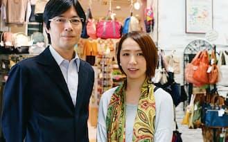 ジェイアール東日本企画駅消費研究センターの加藤肇センター長(写真左)と安川由紀研究員は、駅ナカにいる顧客の深層心理を探った