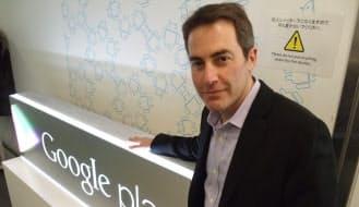 米グーグルのデジタルコンテンツ担当副社長であるジェイミー・ローゼンバーグ氏。コンテンツ配信基盤「グーグル・プレー」の関連部門を統括している