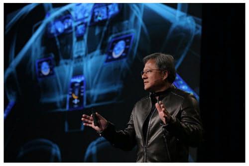 Nvidia CEOのJen-Hsun Huang氏(出典: NVIDIA )