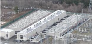 西仙台変電所に稼働した大型蓄電池システム(出所:東北電力、以下同)