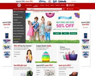 TargetのWebサイト