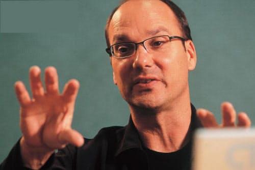 Andy Rubin氏 インタビュー当時は米Google Director of Mobile Platform(写真:栗原克己)