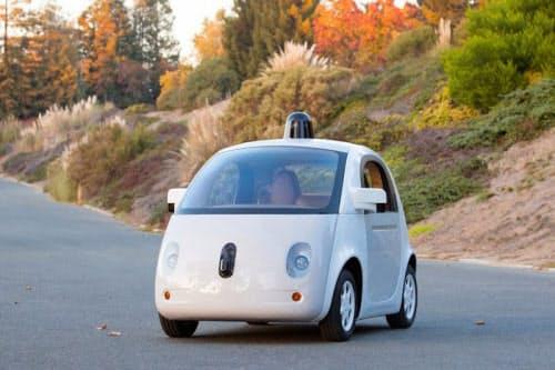 Googleが開発を進めている自動運転車(出典: Google)