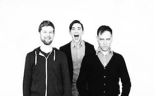 クロッシーロードを開発した3人。左からウェザール氏、サム氏、ホール氏(公式サイトより)