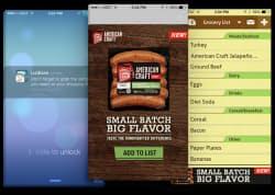 ビーコンを使ったマーケティング向けアプリの3例(提供:インマーケット)