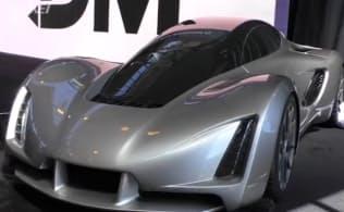 3Dプリンターでつくった自動車