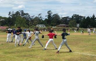体格のいい選手も多く、「野球国」としての潜在能力を感じるという