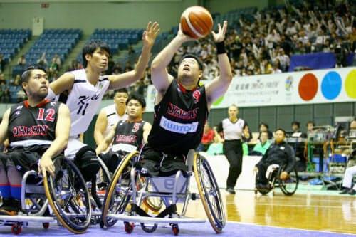 男子日本代表を引っ張ったエース・香西宏昭。大会ベスト5にも選ばれ、リオでの活躍も期待される(写真:土屋季之)