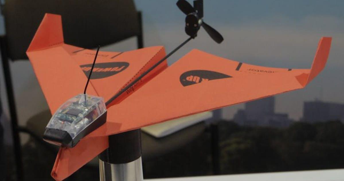 活気づくドローン、全翼機型や紙飛行機型など登場