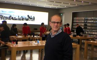 米アップルでOS/iOS製品を担当するブライアン・クロール副社長