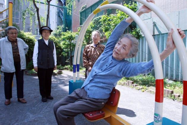 「健康遊具 高齢者」の画像検索結果