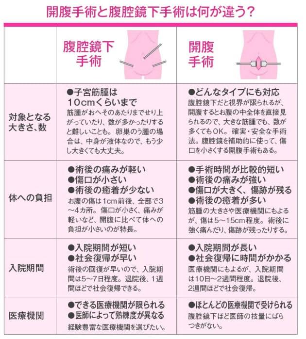 子宮筋腫の治療、お腹を切らない方法も                                        女性のお悩み解決手帳 子宮筋腫・卵巣のう腫(2)