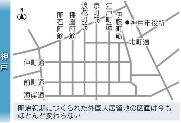 大阪と神戸、なぜ南北の道を「筋」と呼ぶのか?|NIKKEI STYLE