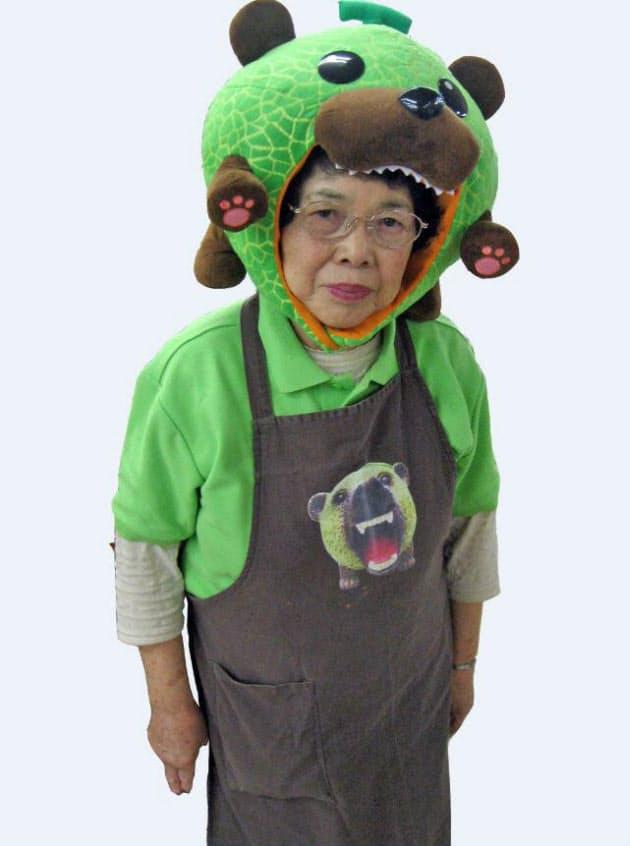 熊 メロン 【ゆるキャラ】インパクトありすぎ!