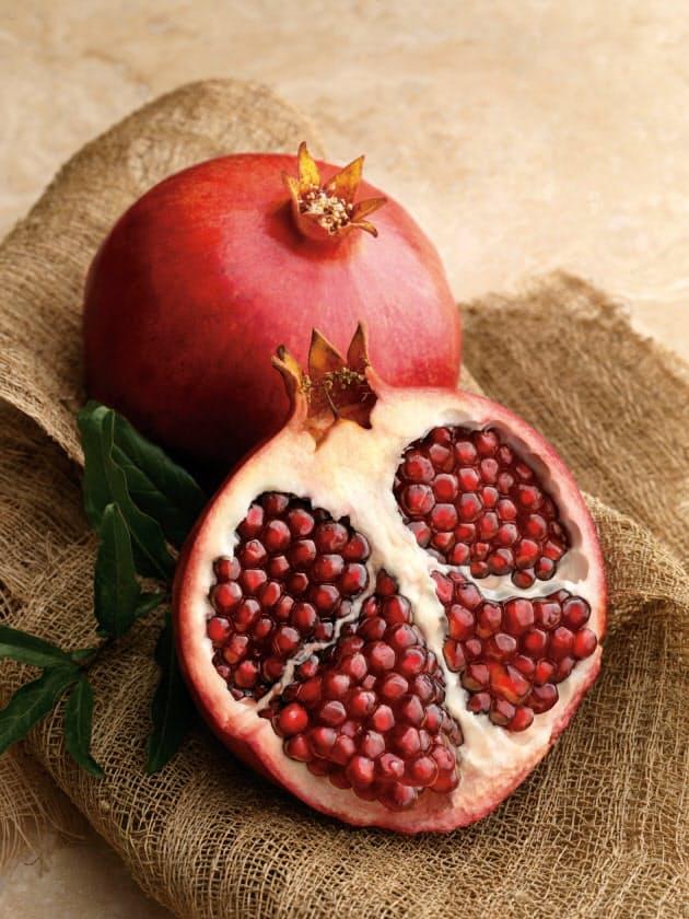 旬のフルーツ「ザクロ」、新たに老化を防ぐ作用|NIKKEI STYLE