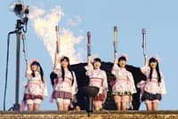 国立競技場でのライブ(photo by HAJIME KAMIIISAKA+Z)