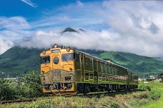 「或る列車」の走行区間は大分-日田(2015年8月~10月)と佐世保-長崎(2015 年11月~2016年3月)の2路線
