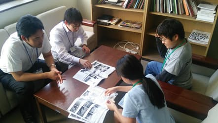 藤川教授が担当する「西千葉子ども起業塾」の様子。子どもたちと一緒に仕事をするのは、千葉市に実際にある会社で働く社会人だ
