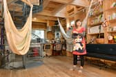 ヨウさんはAirbnbを利用して自宅の一部を貸し出している(東京都品川区)