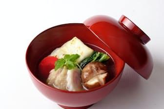 東京の雑煮はしょうゆ仕立てのあっさりとした味が特徴だ(お雑煮やさん提供)