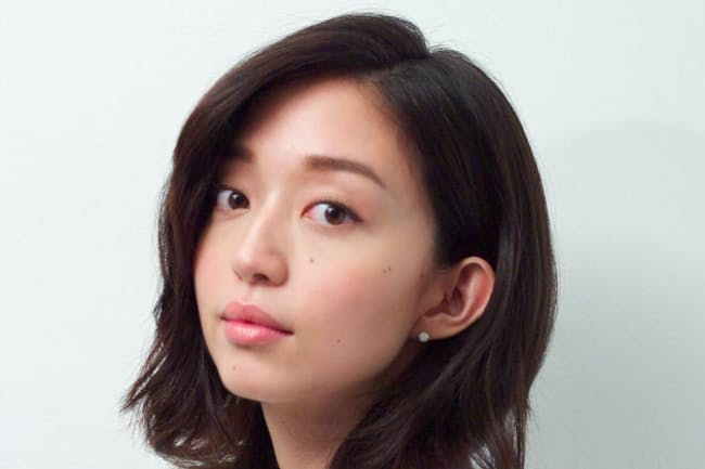 松島花さん  (C)森本菜穂子