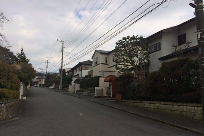 横浜市の庄土地区は美しい街並みの住宅街だが、高齢化が進んでいる