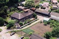 郡政を取り仕切った役職「大肝入(おおきもいり)」の屋敷(1976年ごろ、岩手県陸前高田市)