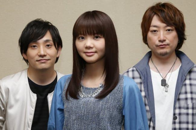 写真左から水野良樹(33)、吉岡聖恵(32)、山下穂尊(33)。1999年2月に水野と山下で結成、同年11月に吉岡が参加。2006年「SAKURA」でメジャーデビュー。代表曲に「風が吹いている」「ありがとう」など