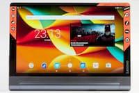 新登場のYOGA Tab 3 Pro 10は、レノボらしいデザインだ