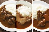 レトルトカレーなのに巨大な肉が入っている「肉系」ご当地レトルトカレー(写真:ヤマシタチカコ 以下同)