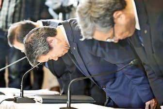 歴代3社長が辞任した東芝の不適切会計問題