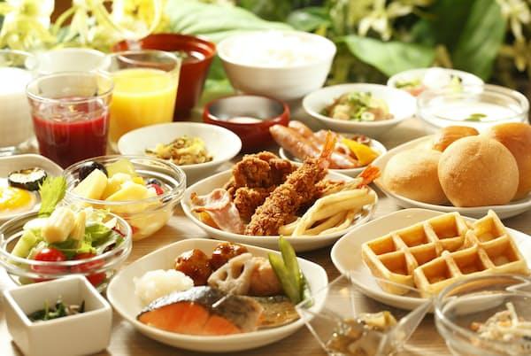 ドーミーインの朝食