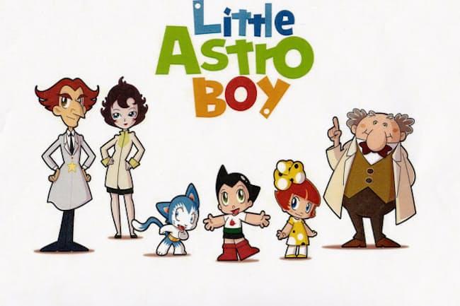4~6歳向けテレビアニメ「リトルアストロボーイ」