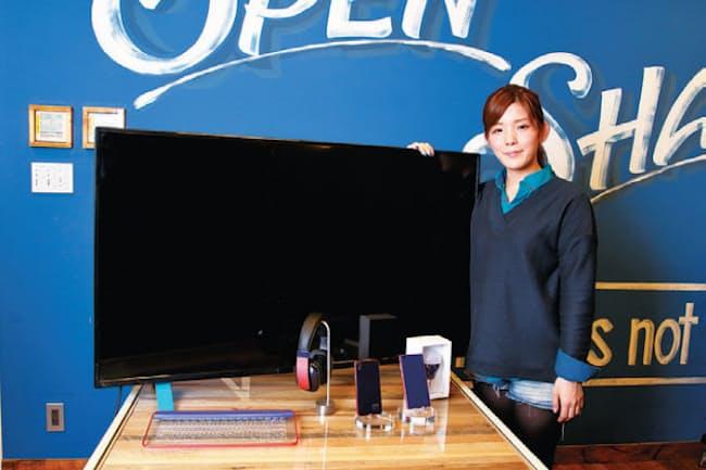 UPQの中澤優子CEO。カシオ計算機で携帯電話のプロジェクト管理を担当した経験が生きているという
