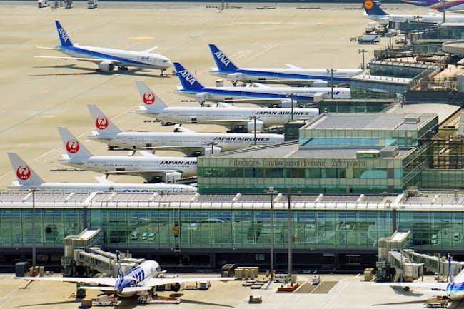 羽田空港と都心のアクセスが東京の国際競争力の課題となっている