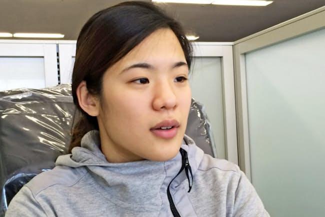 女子アイスホッケーの日本代表スマイルジャパンのFA浮田留衣選手は世界最高峰の北米大学リーグでのプレーを目指す