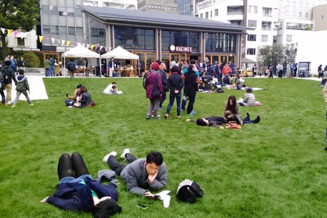 南池袋公園(東京都豊島区)は公園運営に新しい方式を導入した