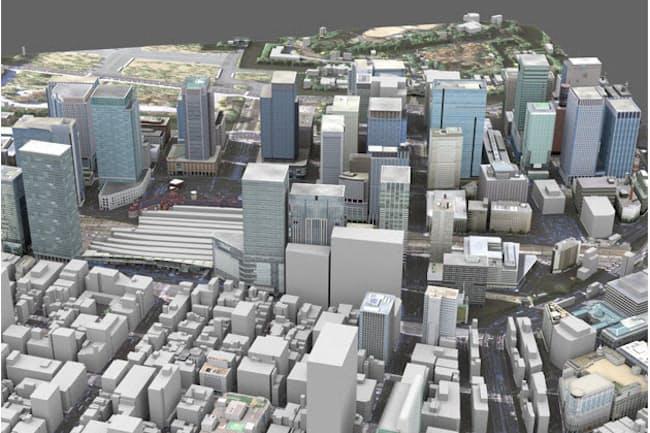 東京駅周辺の大型再開発が東京五輪・パラリンピックを控え拡大している(CG画像提供:キャドセンター)