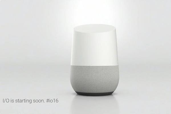 据え置き型の人工知能端末「Google Home」