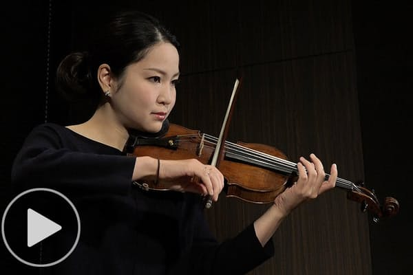 バイオリニストの神尾真由子さん 協奏とデュオと無伴奏を語る