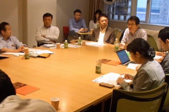 東大などが立ち上げた電子アーカイブ推進のための連絡会(6月22日、東京都文京区の東京大学)