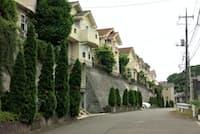 道路と高低差のある土地も路線価より評価が下がる可能性がある(横浜市)