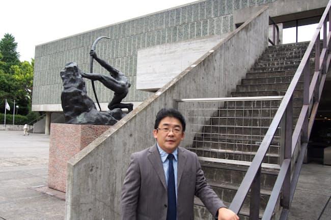 東京理科大学 山名善之教授(国立西洋美術館で)