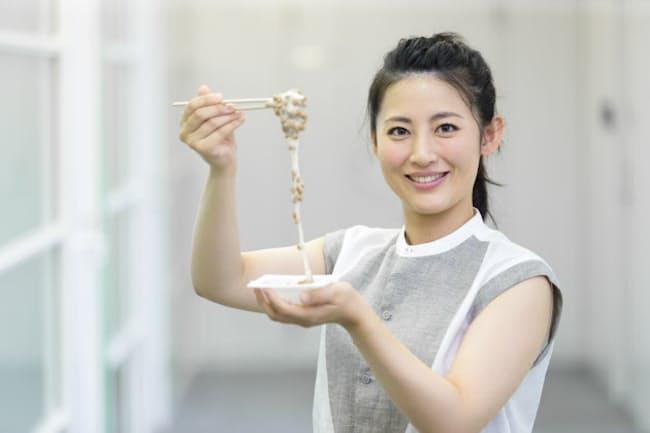 福田さんの大好物が納豆。「大げさでなくほぼ欠かさず毎日食べています」