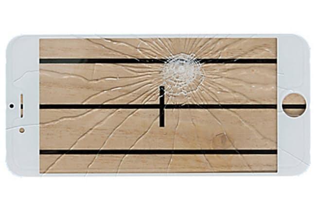 最新強化ガラスでもスマホが破損することがある